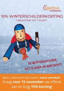 Eigenhuis Schilderplan Winterschilder 2019